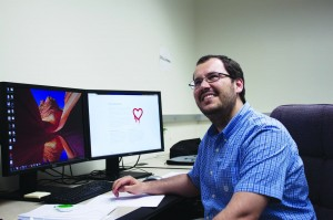 Christopher Wang|Photo Editor oftware engineering doctoral student Frederico Araujo worked with professor Kevin Hamlen to develop Red Herring, a counter to a bug that affected two-thirds of the Internet.