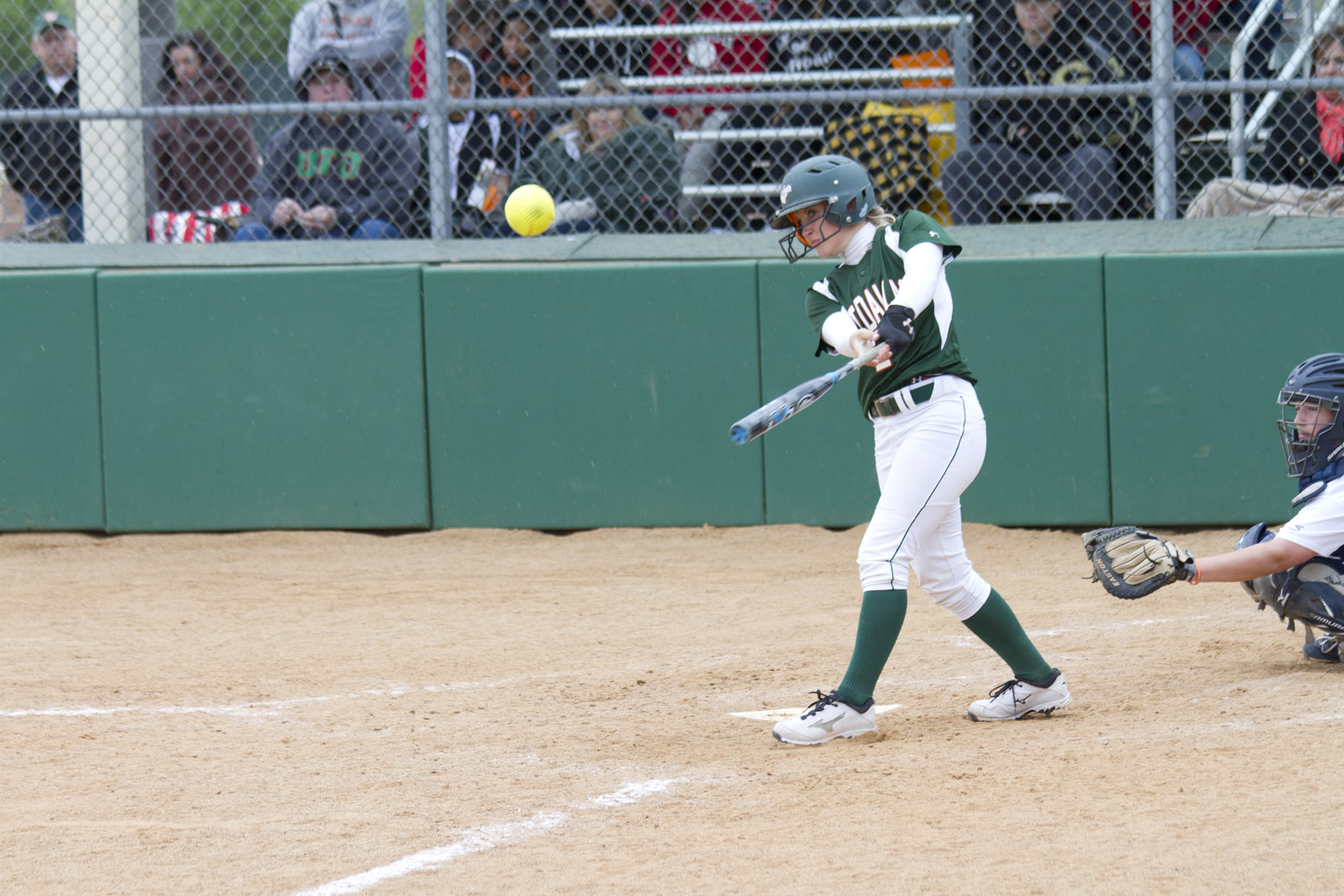 Inexperienced softball team improving in spite of recent losses
