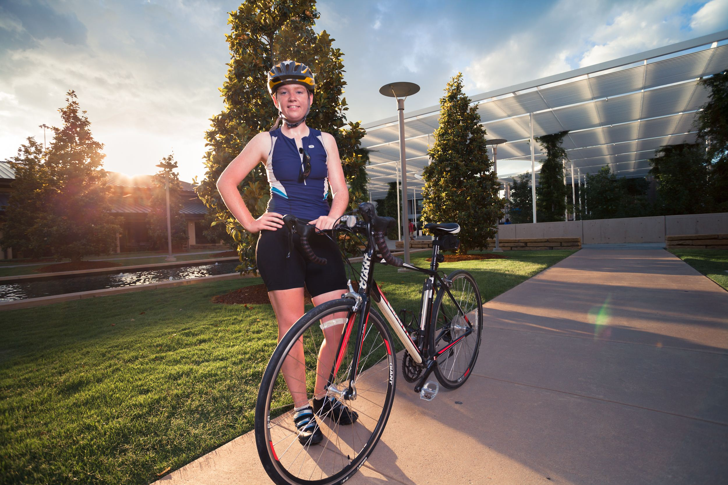 Biker embarks on nationwide trek