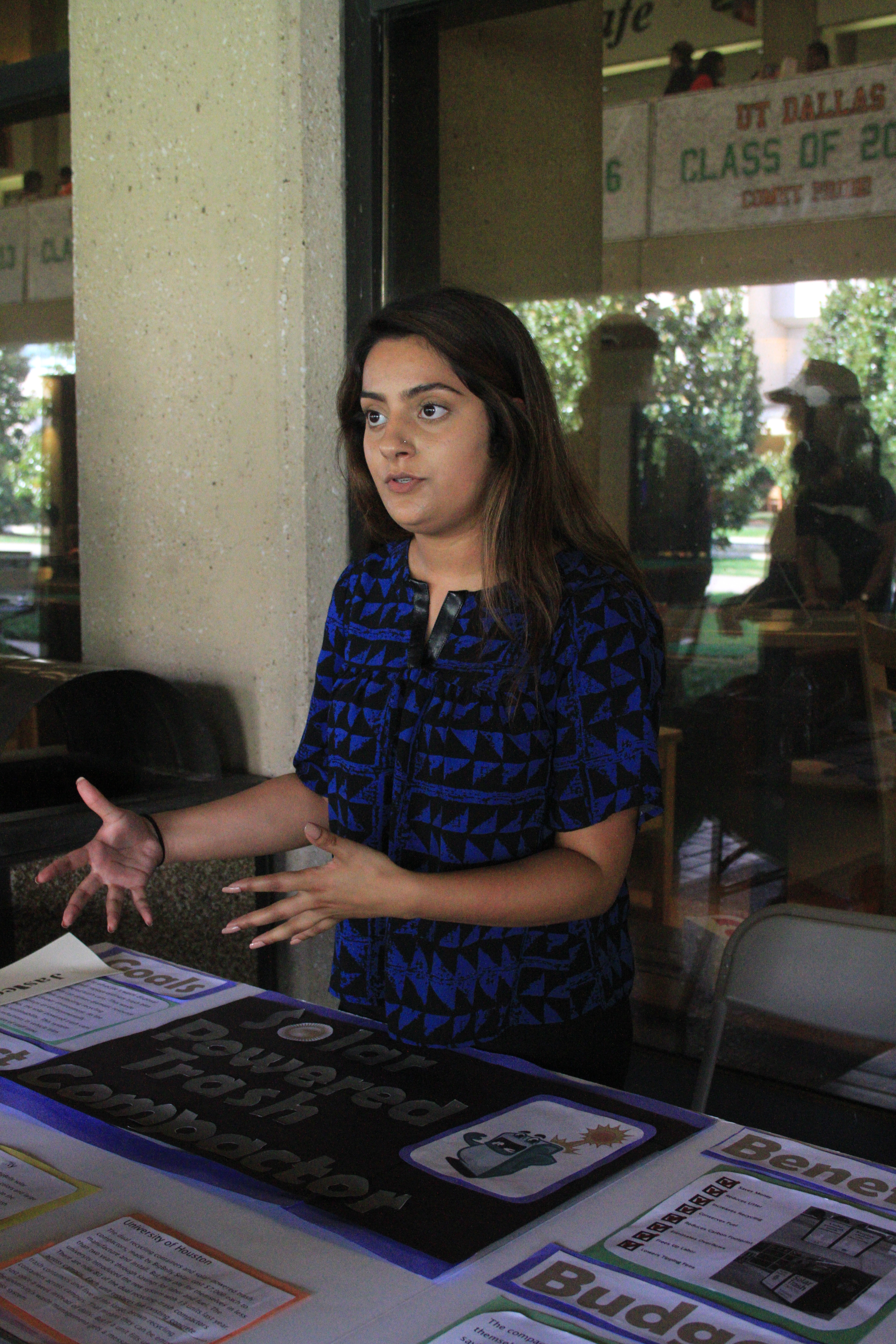 Students, staff propose sustainable ideas for campus at green fair