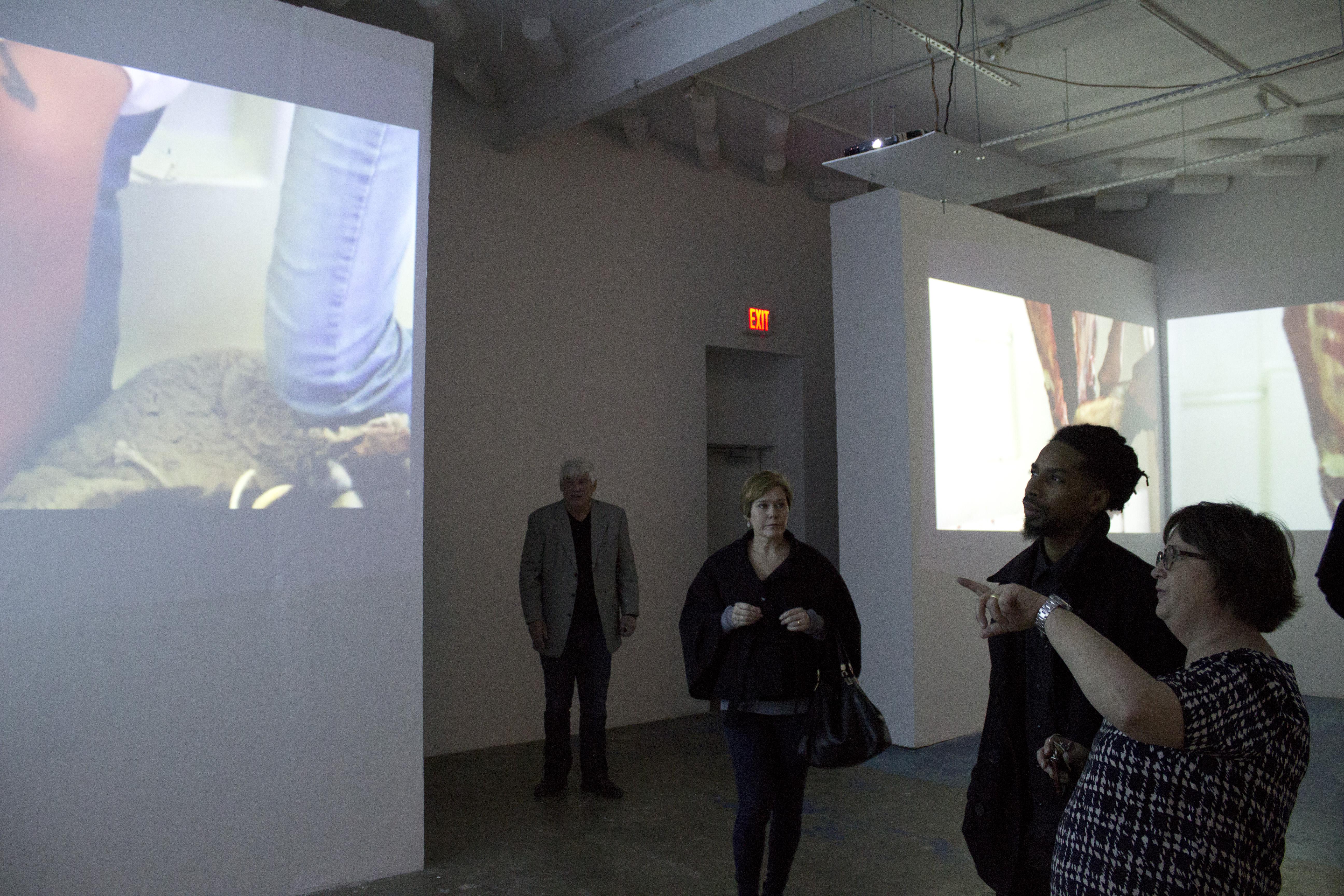 Native art showcased at CentralTrak exhibition