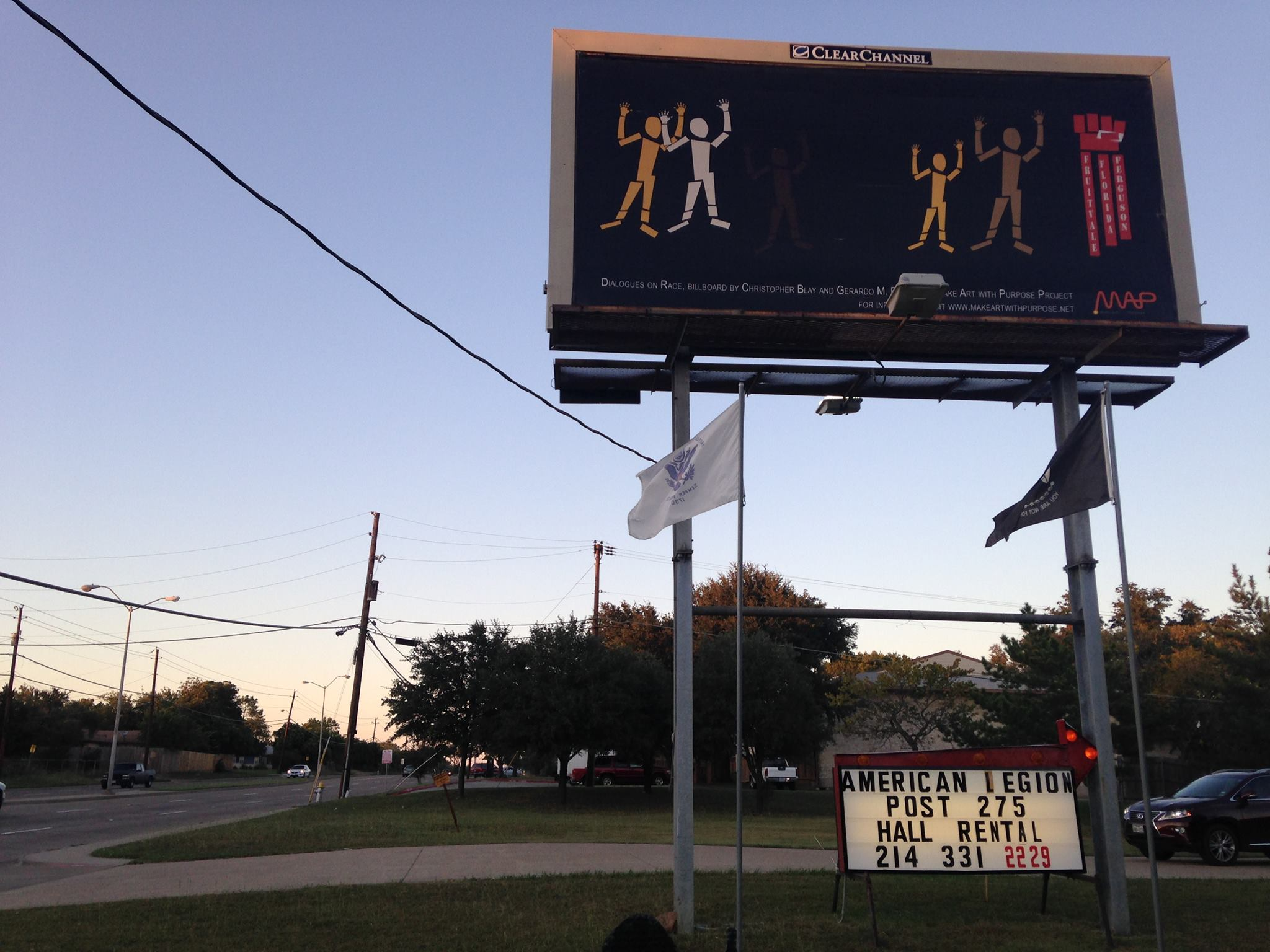 Billboard art spurs discussion on racial equity