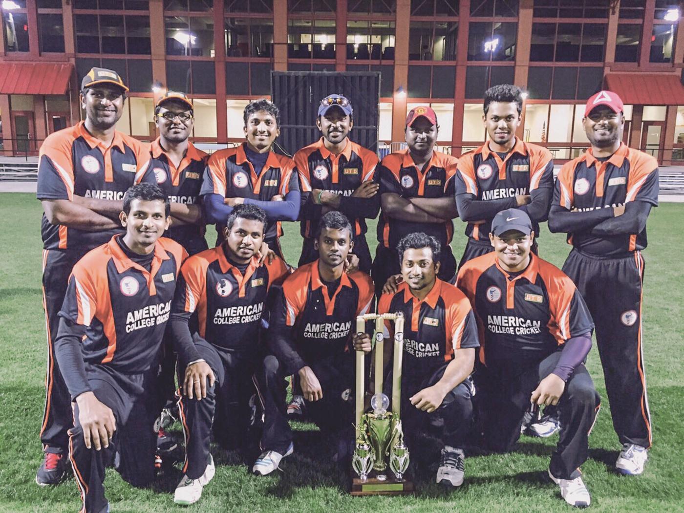 Cricket team wins nat'l tourney, plans to expand