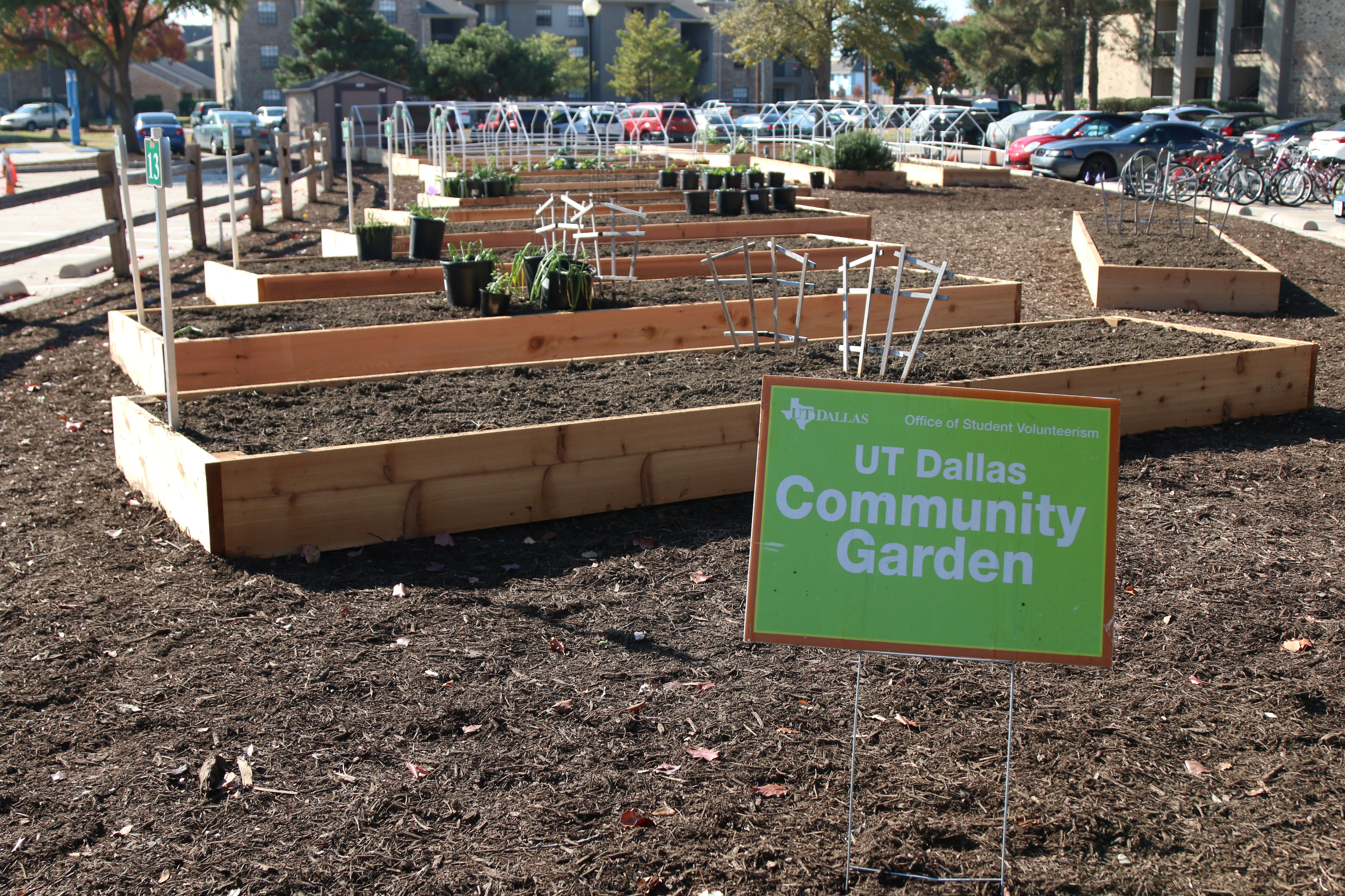 OSV's garden relocated