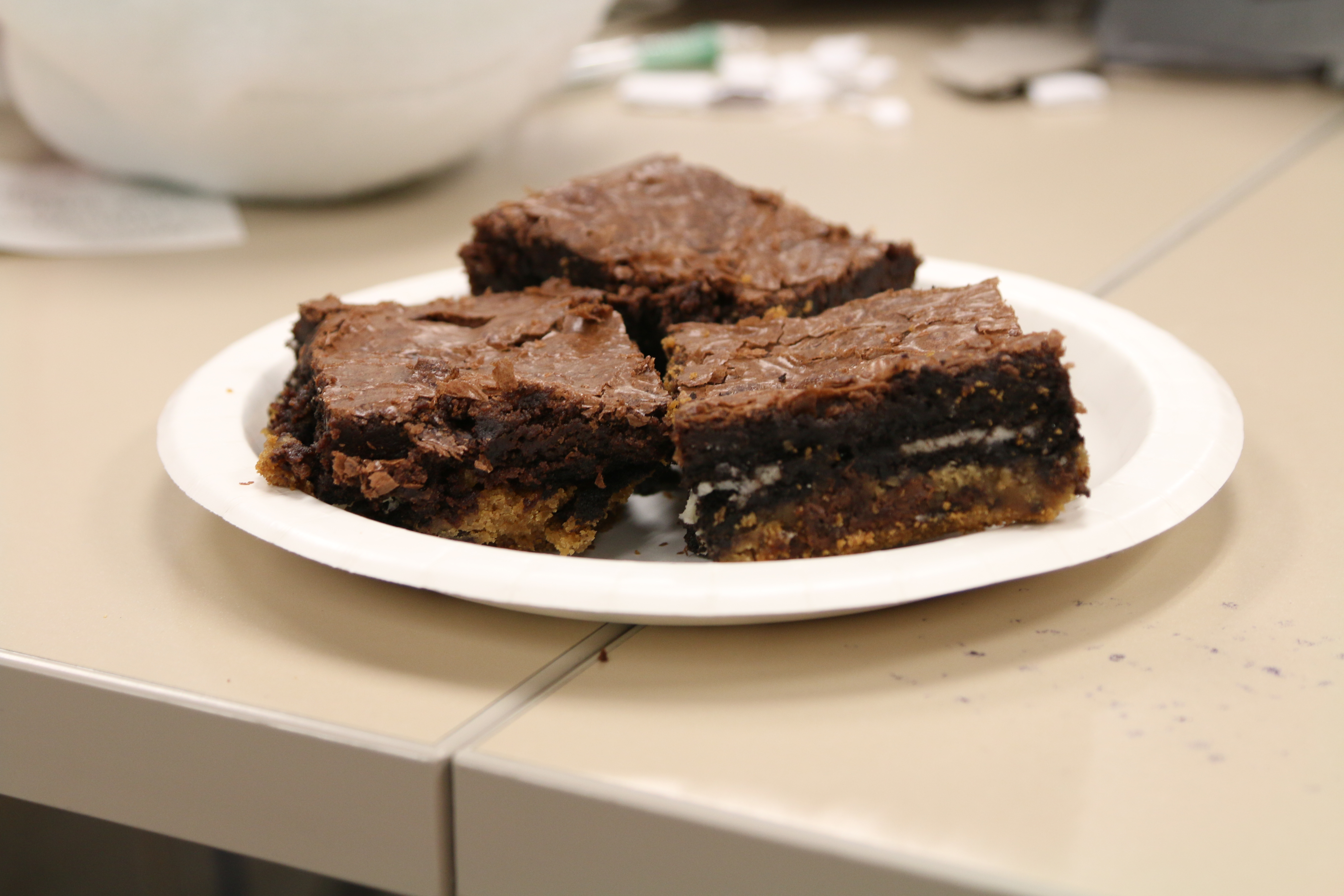 Pinpossible: Layered Brownies
