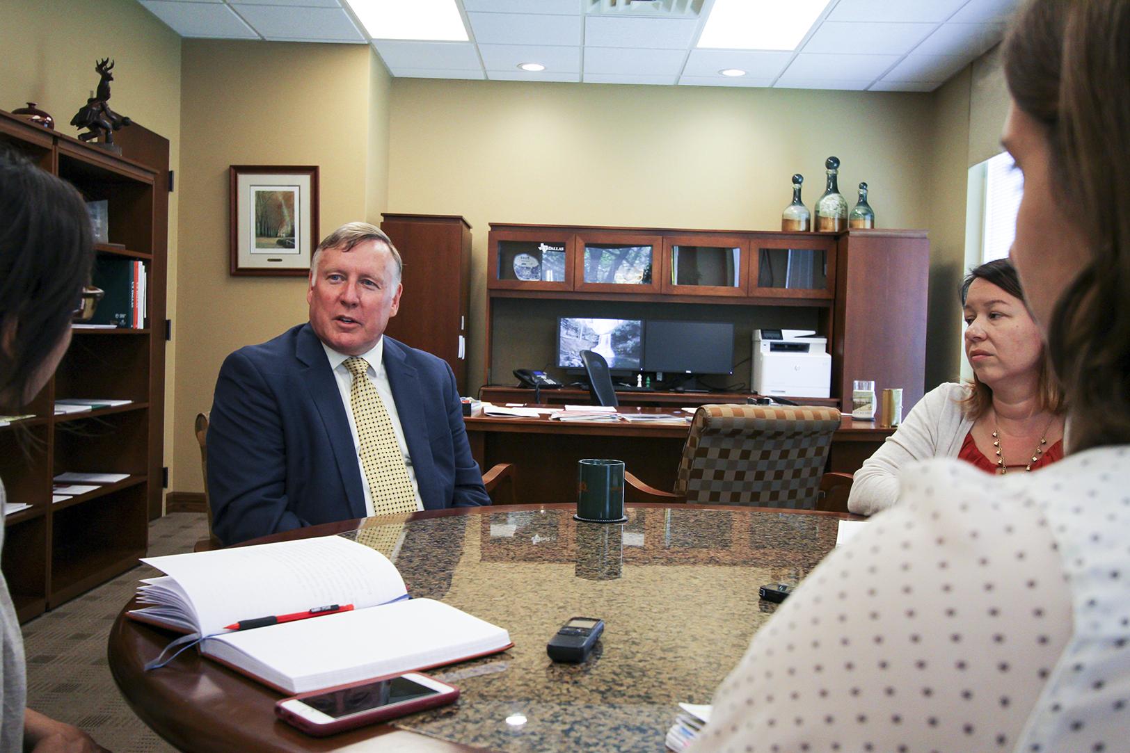 UTD president shares goals