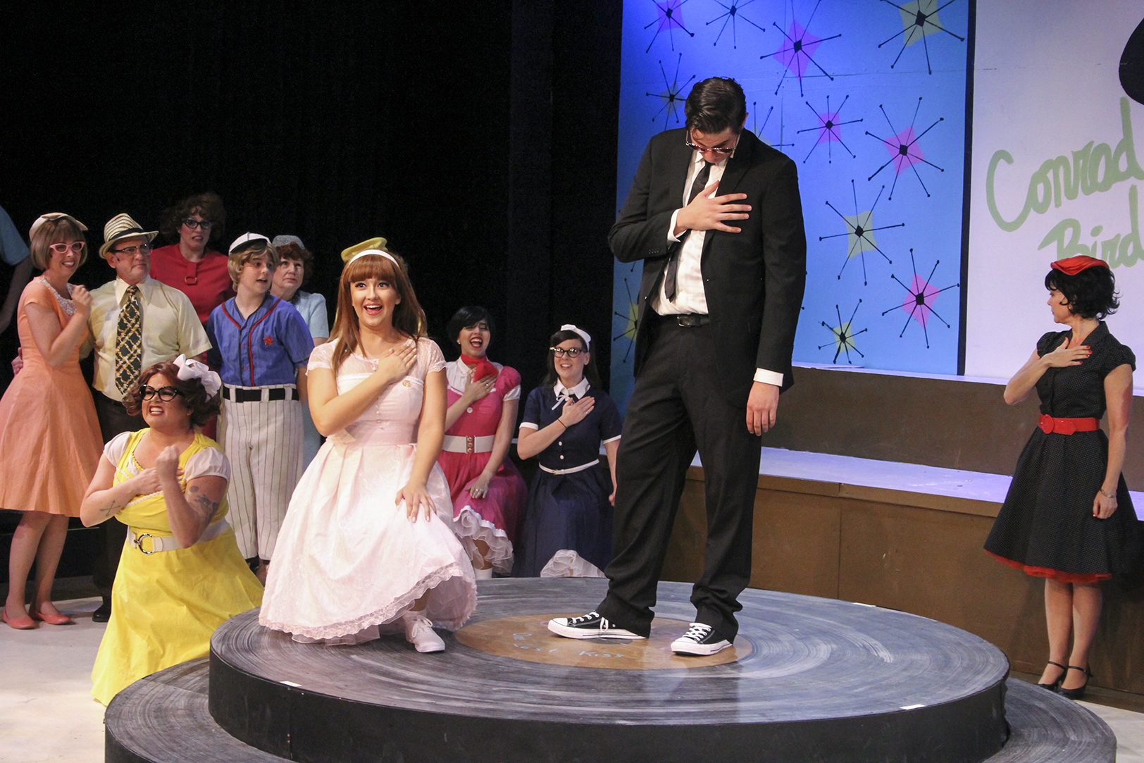 Student stars in show
