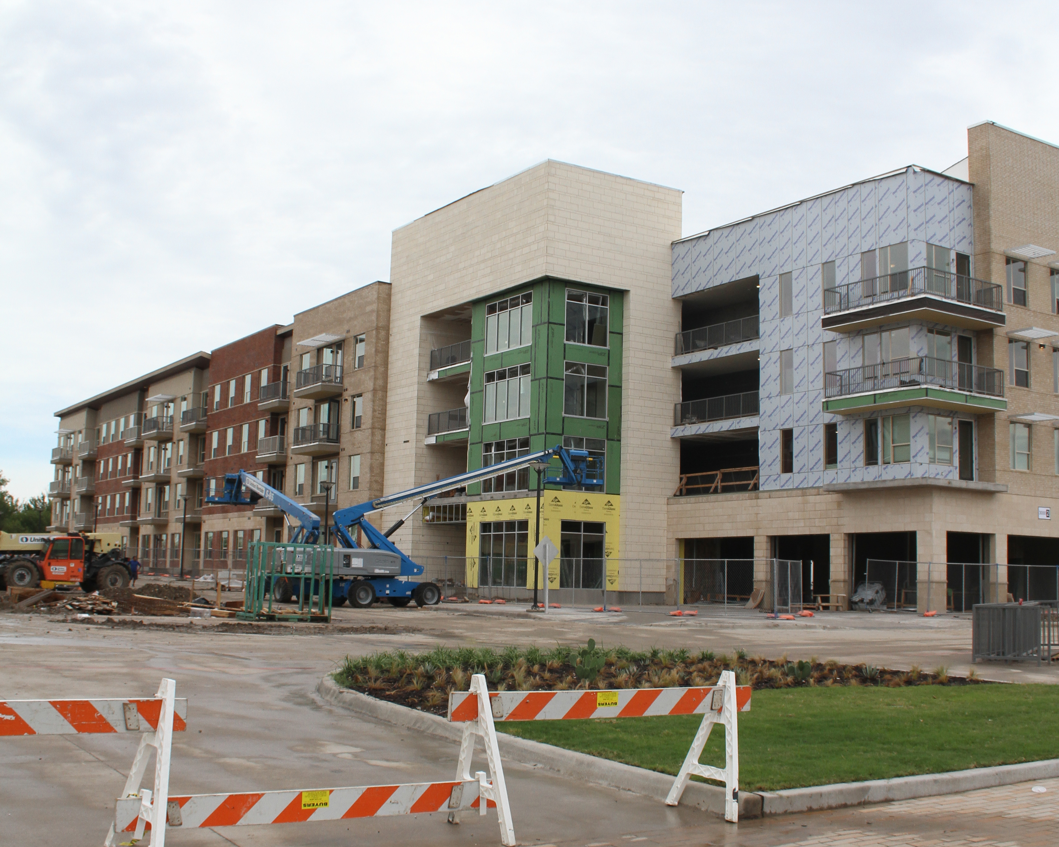 Northside move in delayed