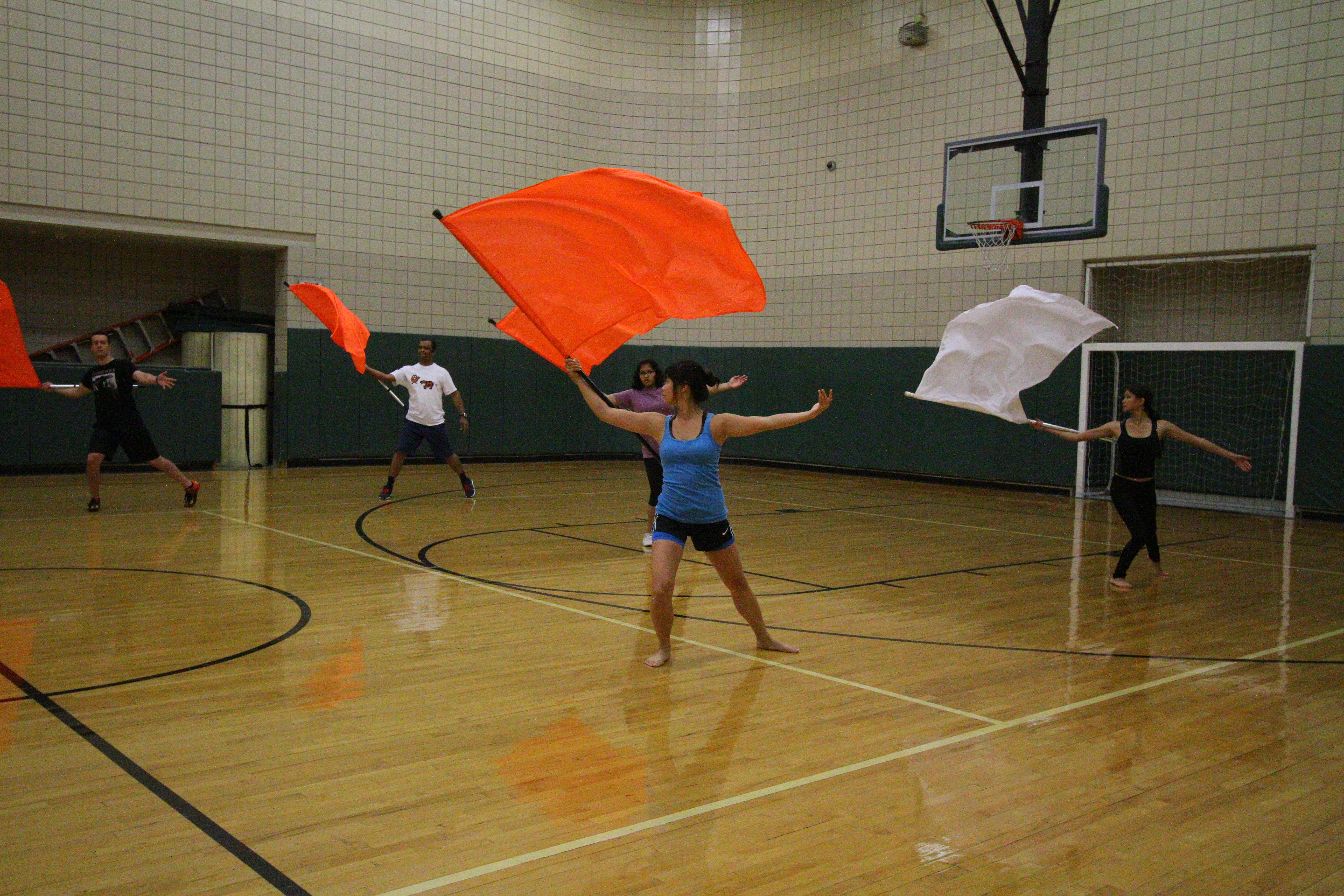 Color Guard provides creative outlet
