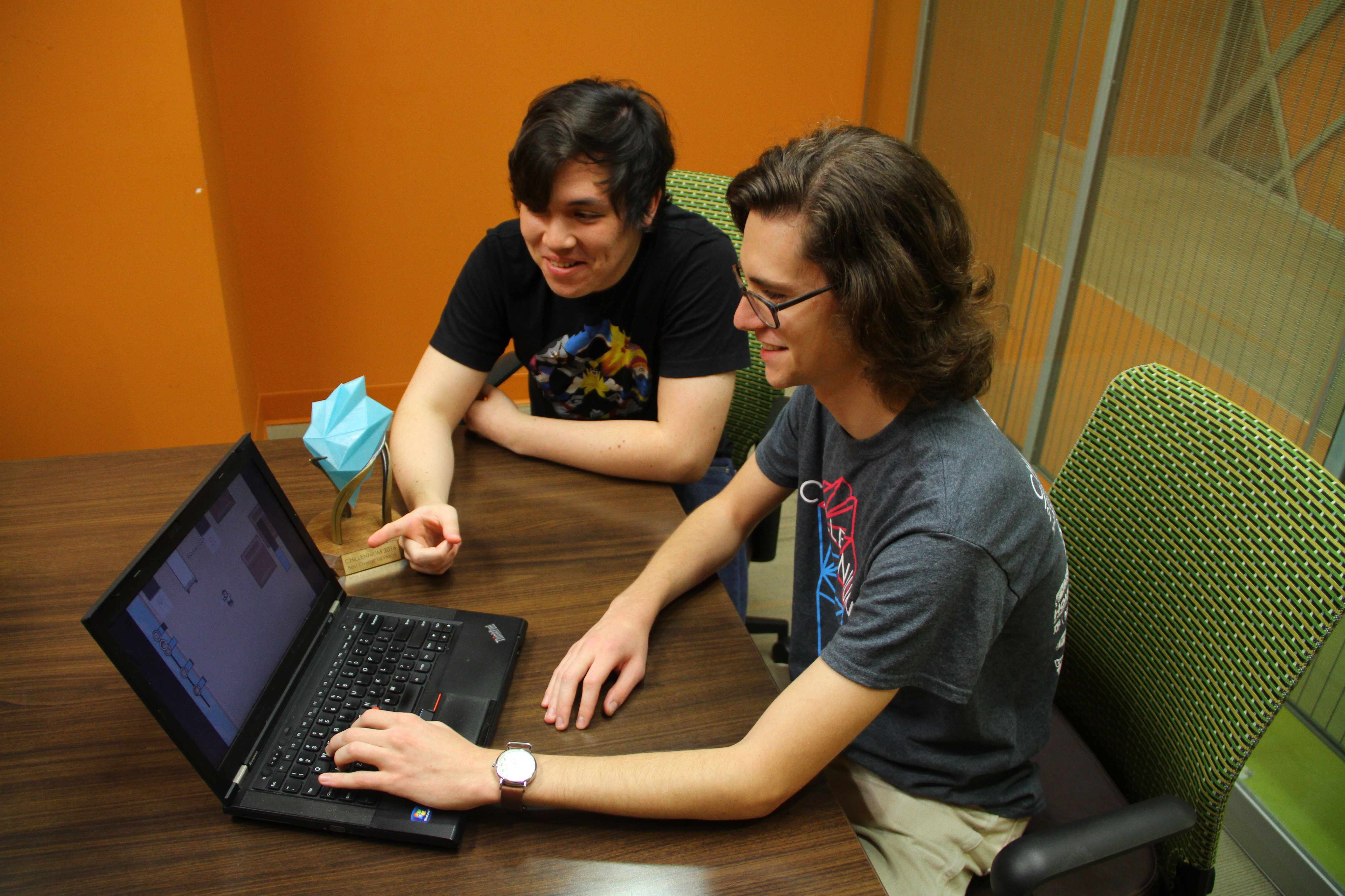 Juniors place first in nat'l game design competition
