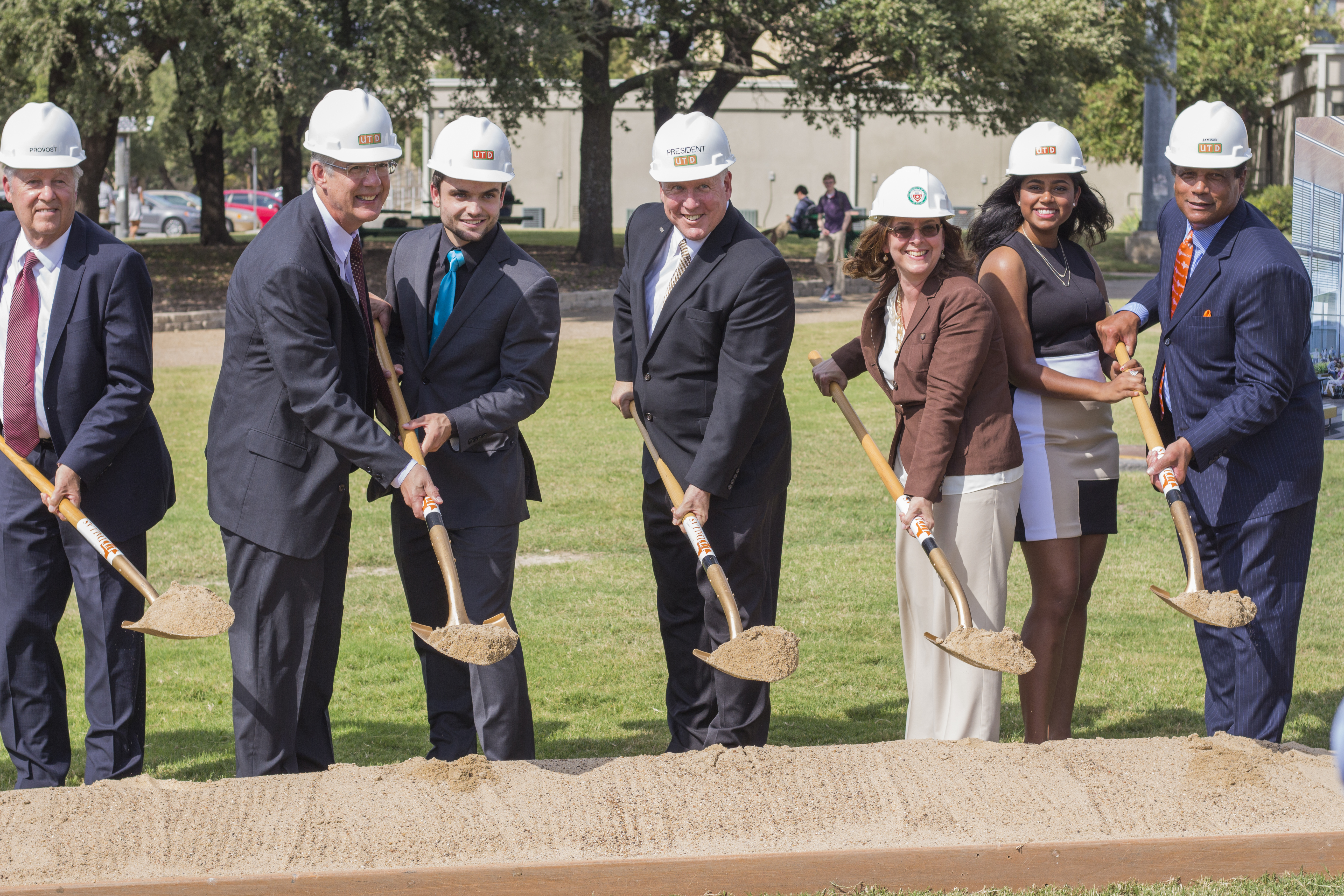Construction begins on new engineering building