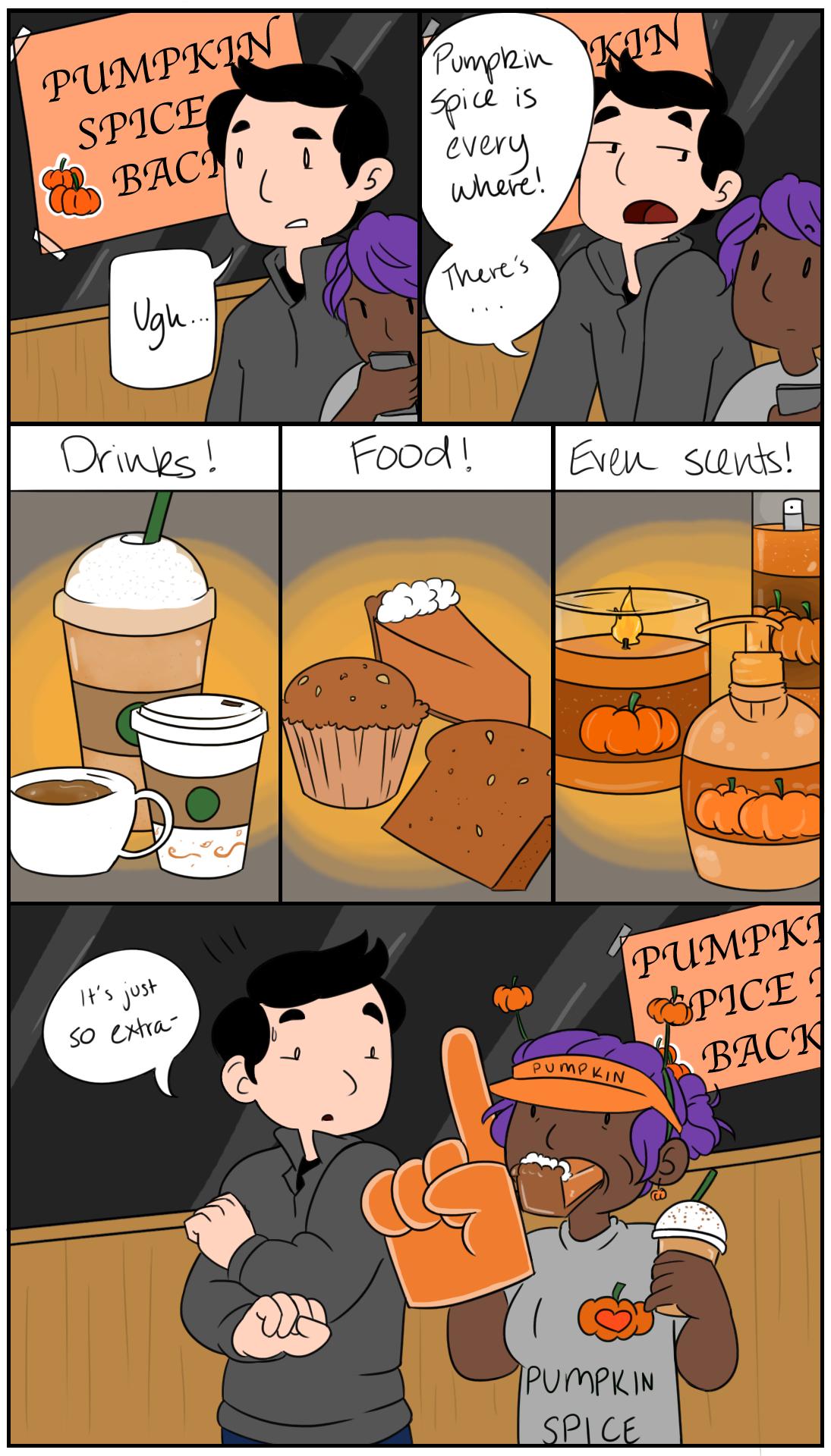 Pumpkin spice overload