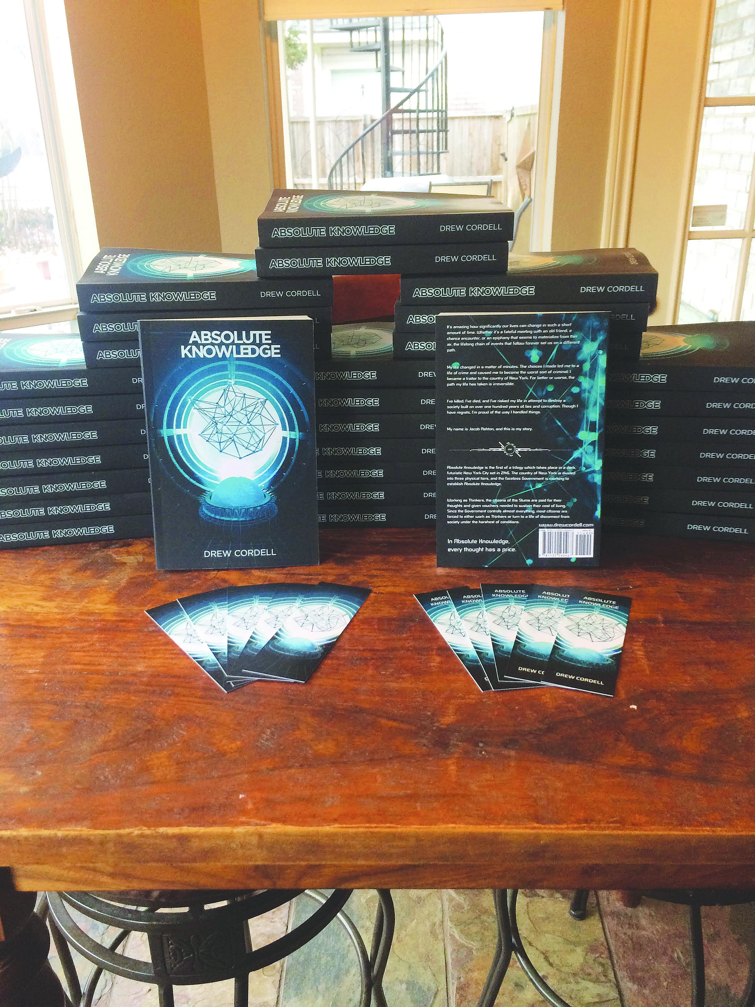 Student releases debut novel