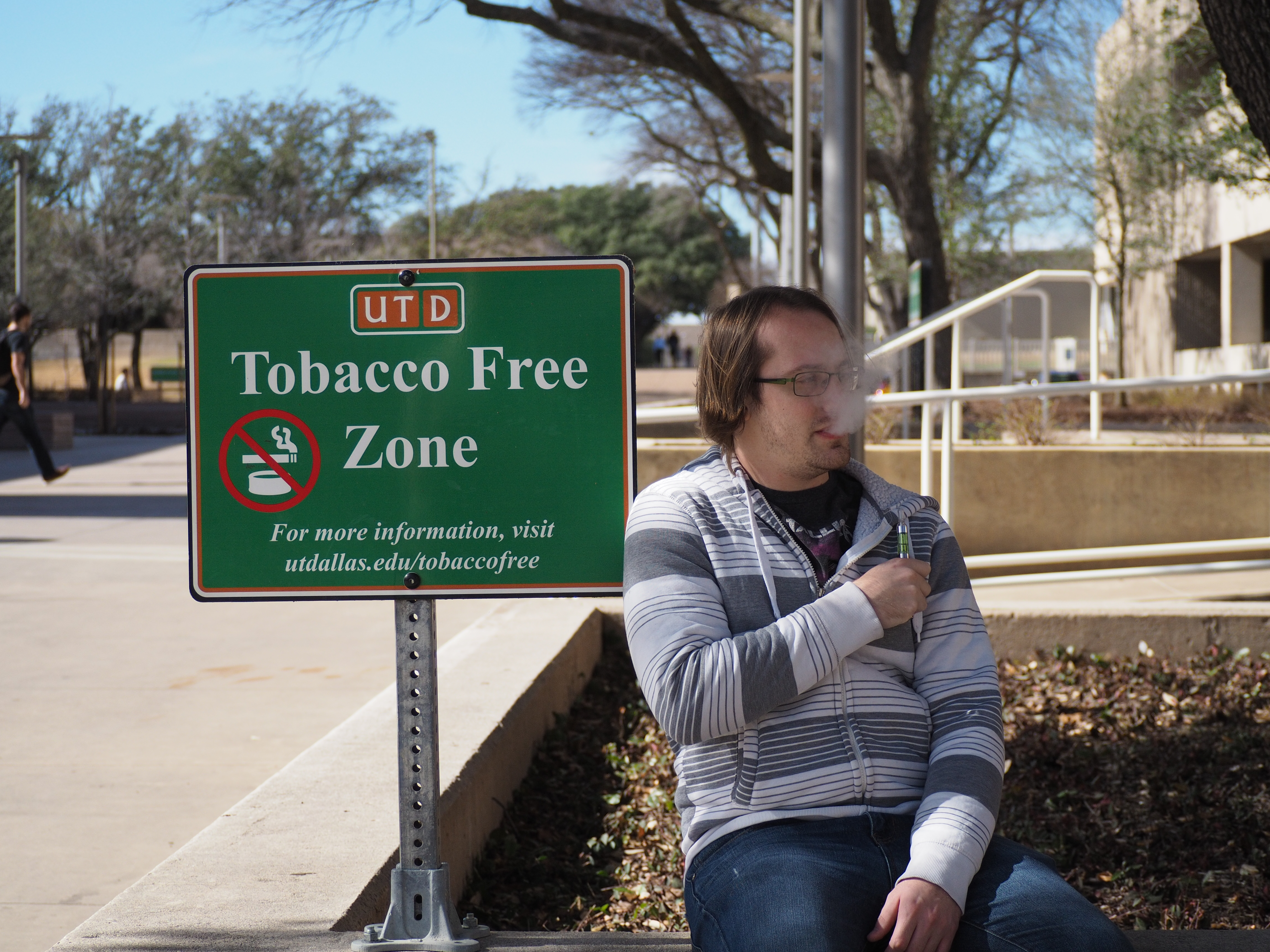 Tobacco to be banned on campus