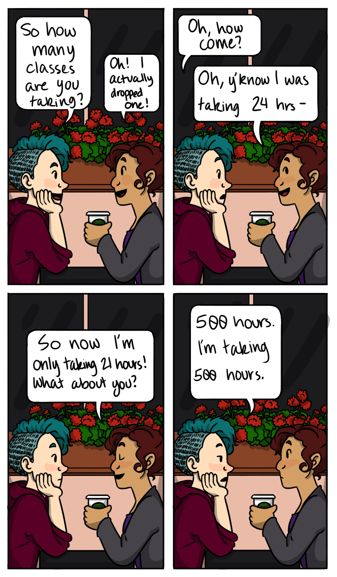 500 Hours