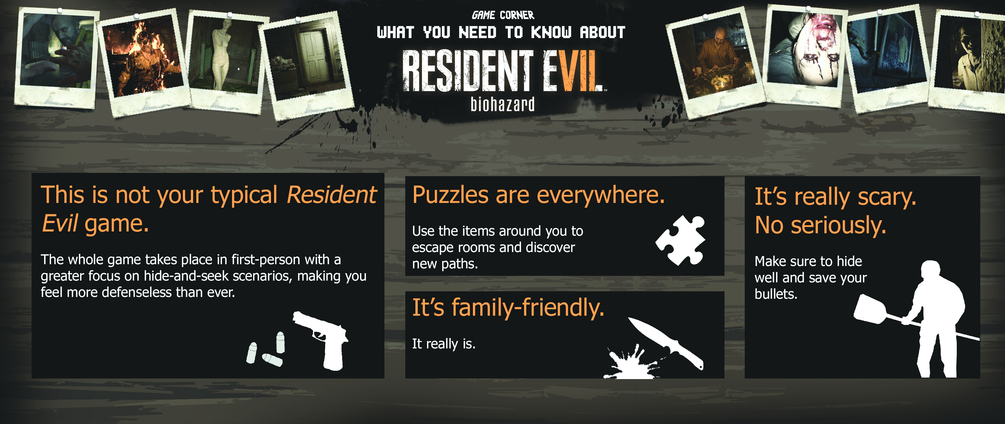 Game Corner: What you need to know about Resident Evil 7