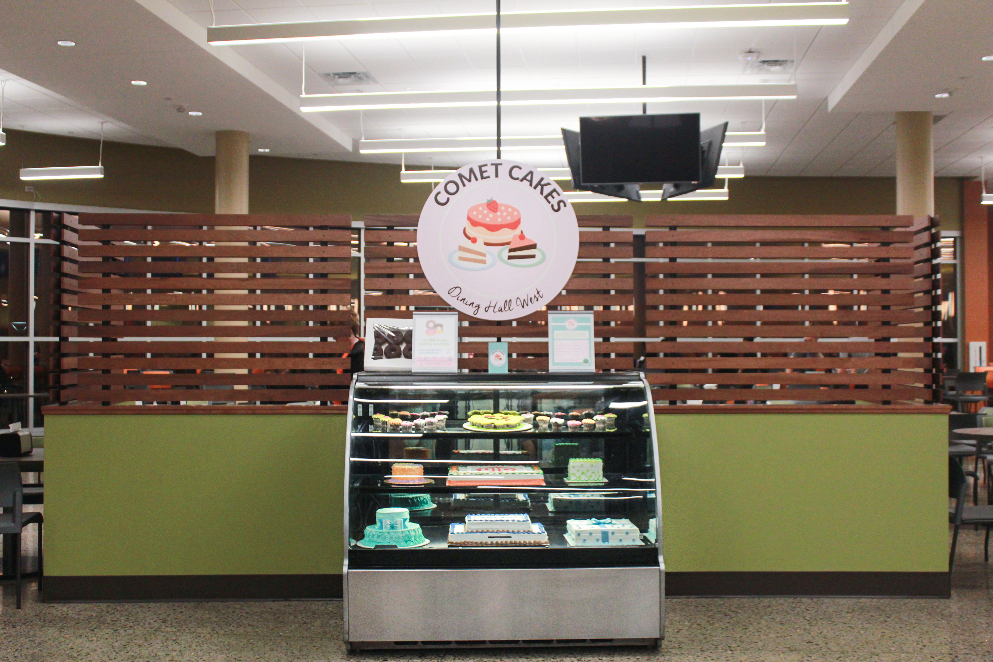 Full-service bakery opens in Dining Hall West
