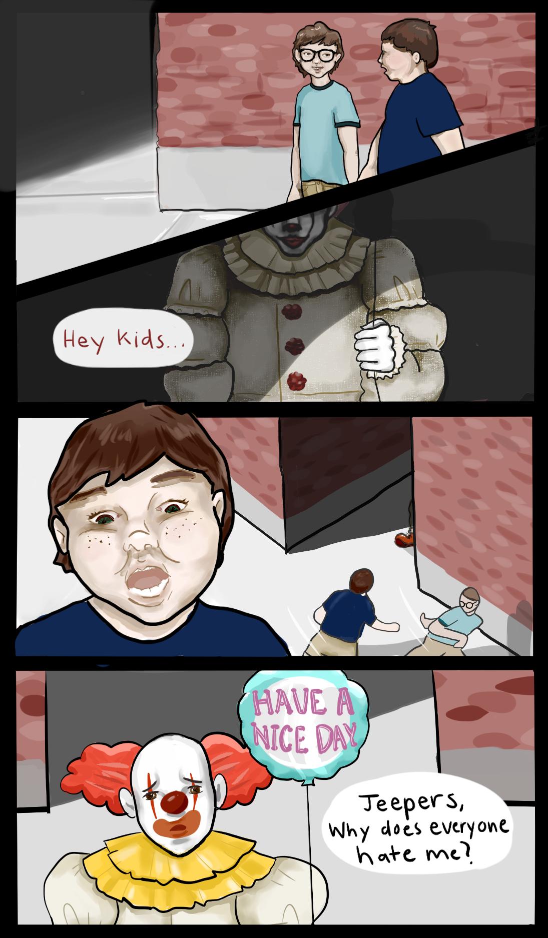 Poor clowns