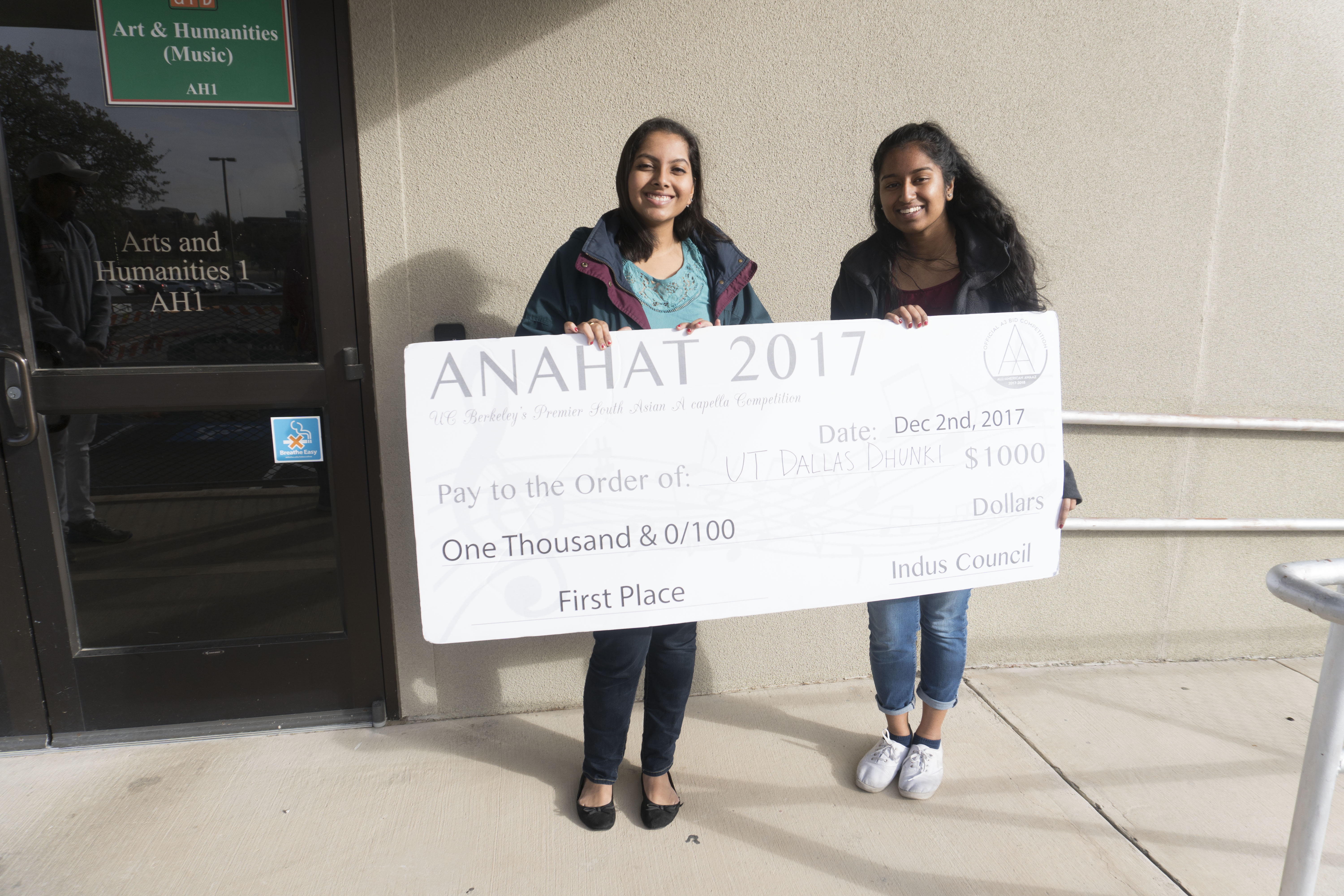 Music group wins contest