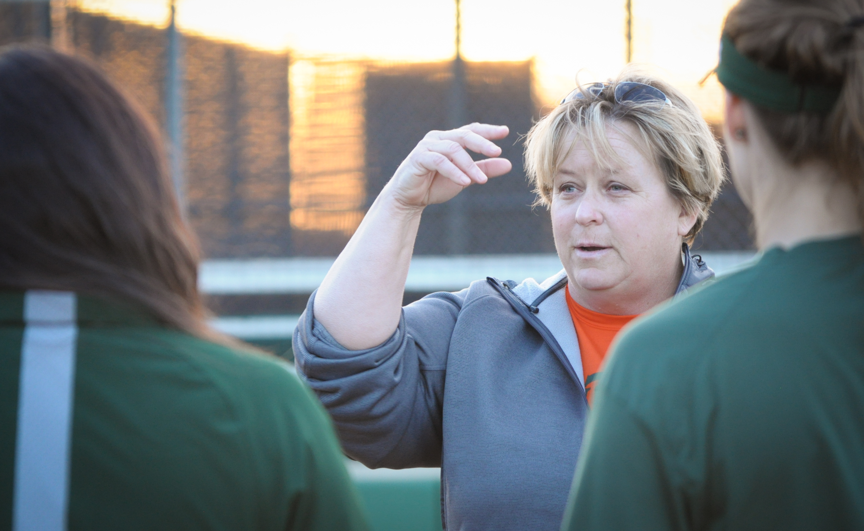 New softball coach arrives