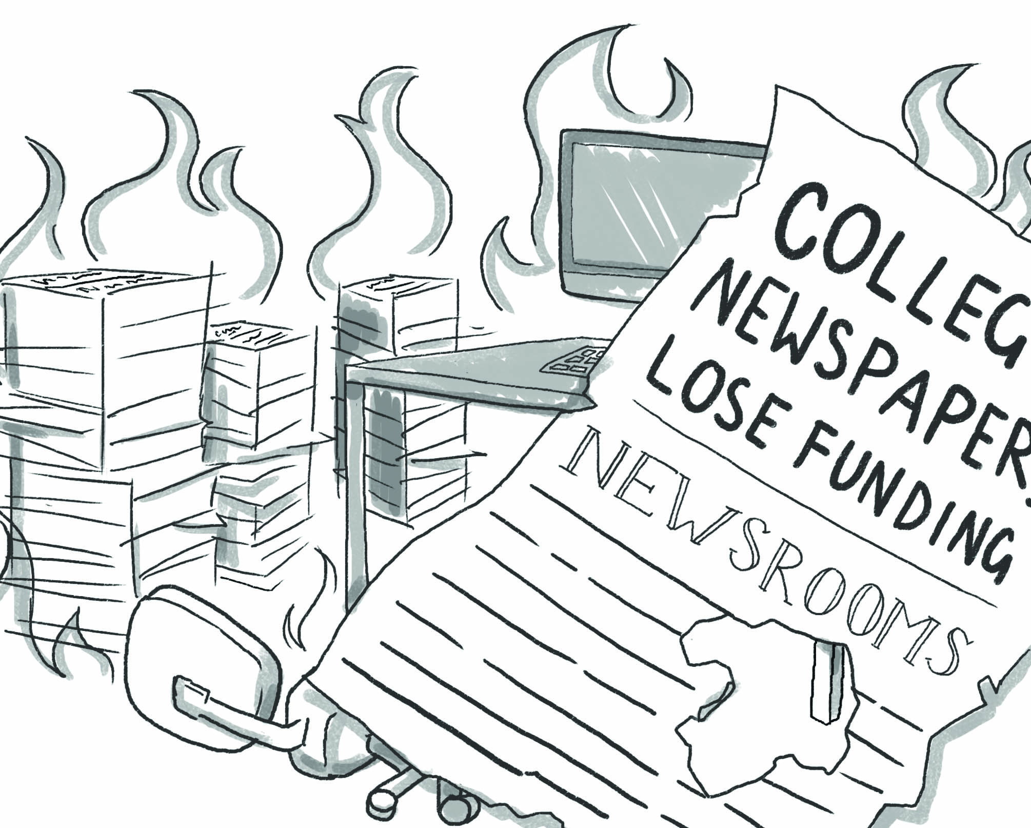 Publications risk closure due to loss of funding, resources