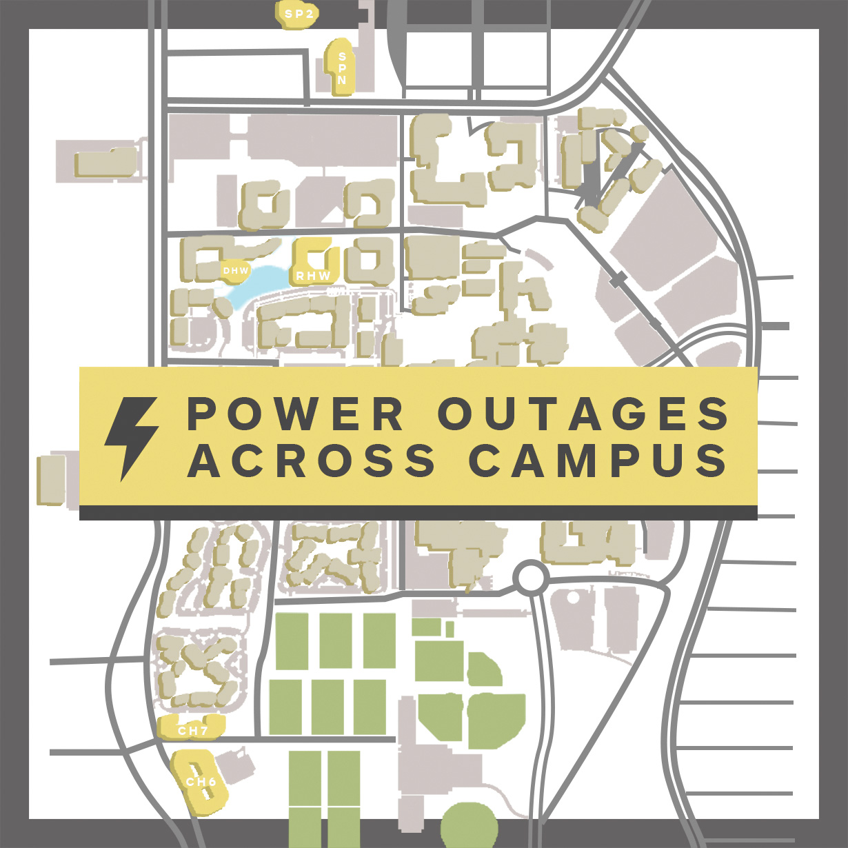 Wind causes power outages