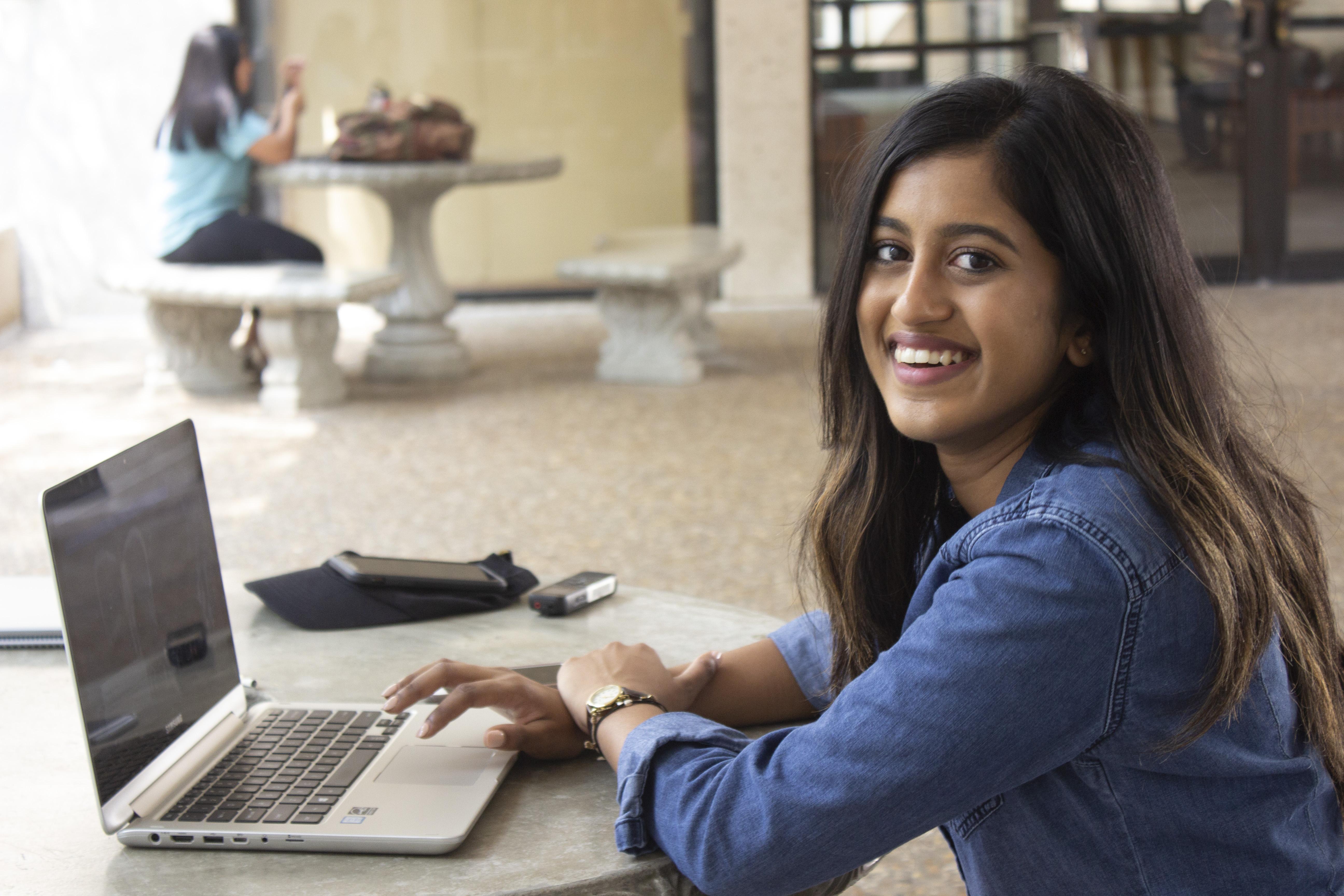 Student sees hobby in new lens