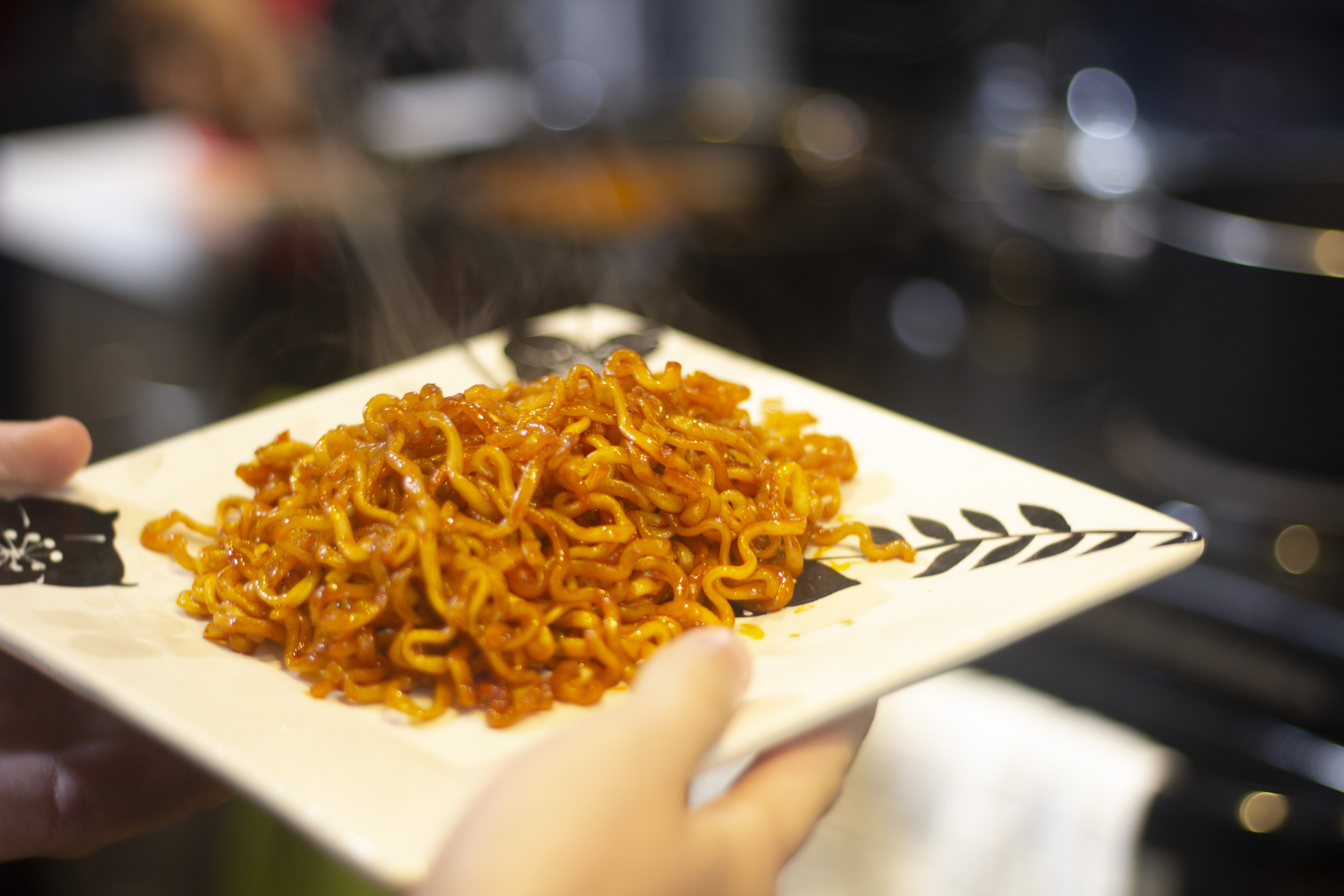 Nuclear spicy noodles: We tried it so you don't have to