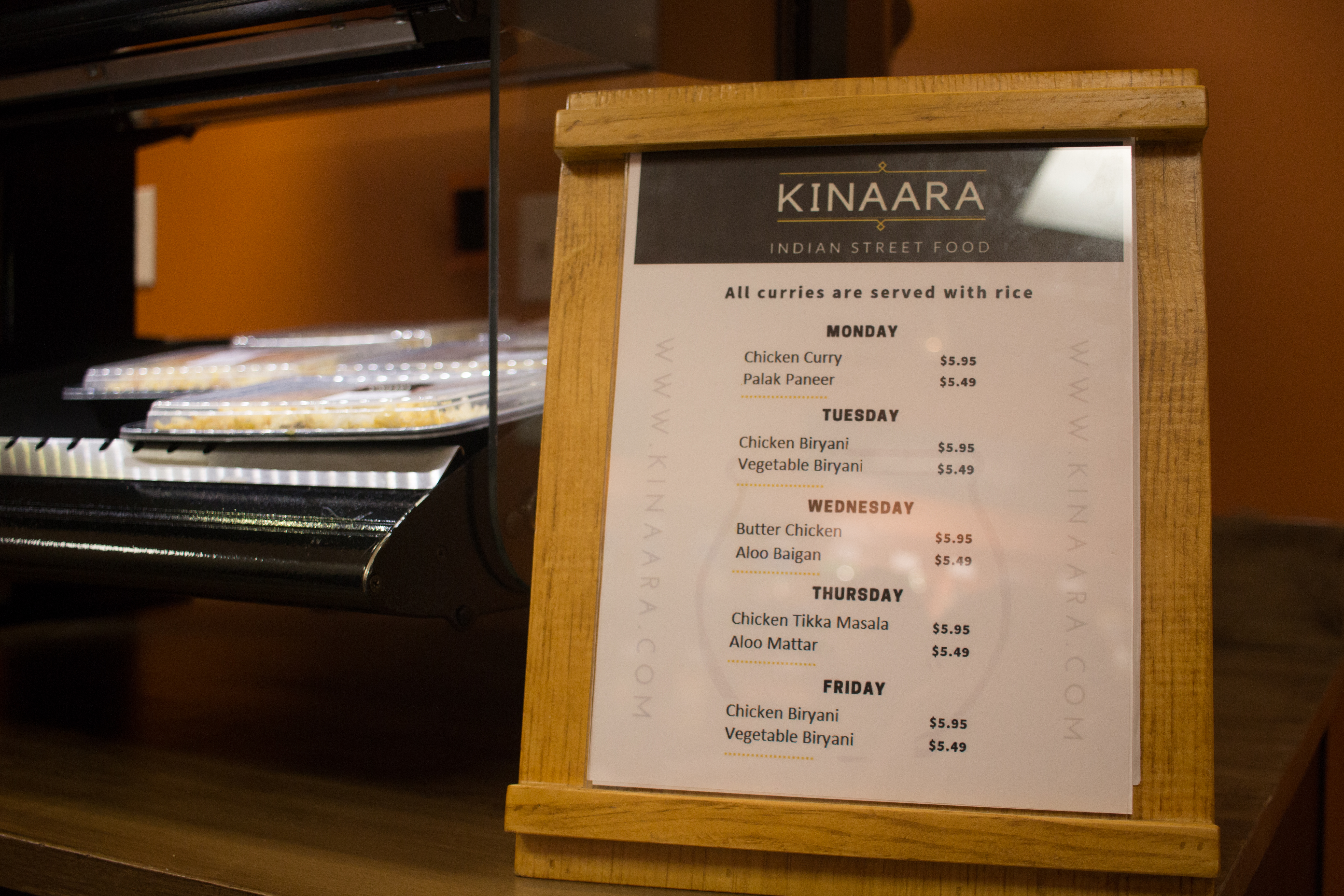 Classic Indian cuisine comes to campus