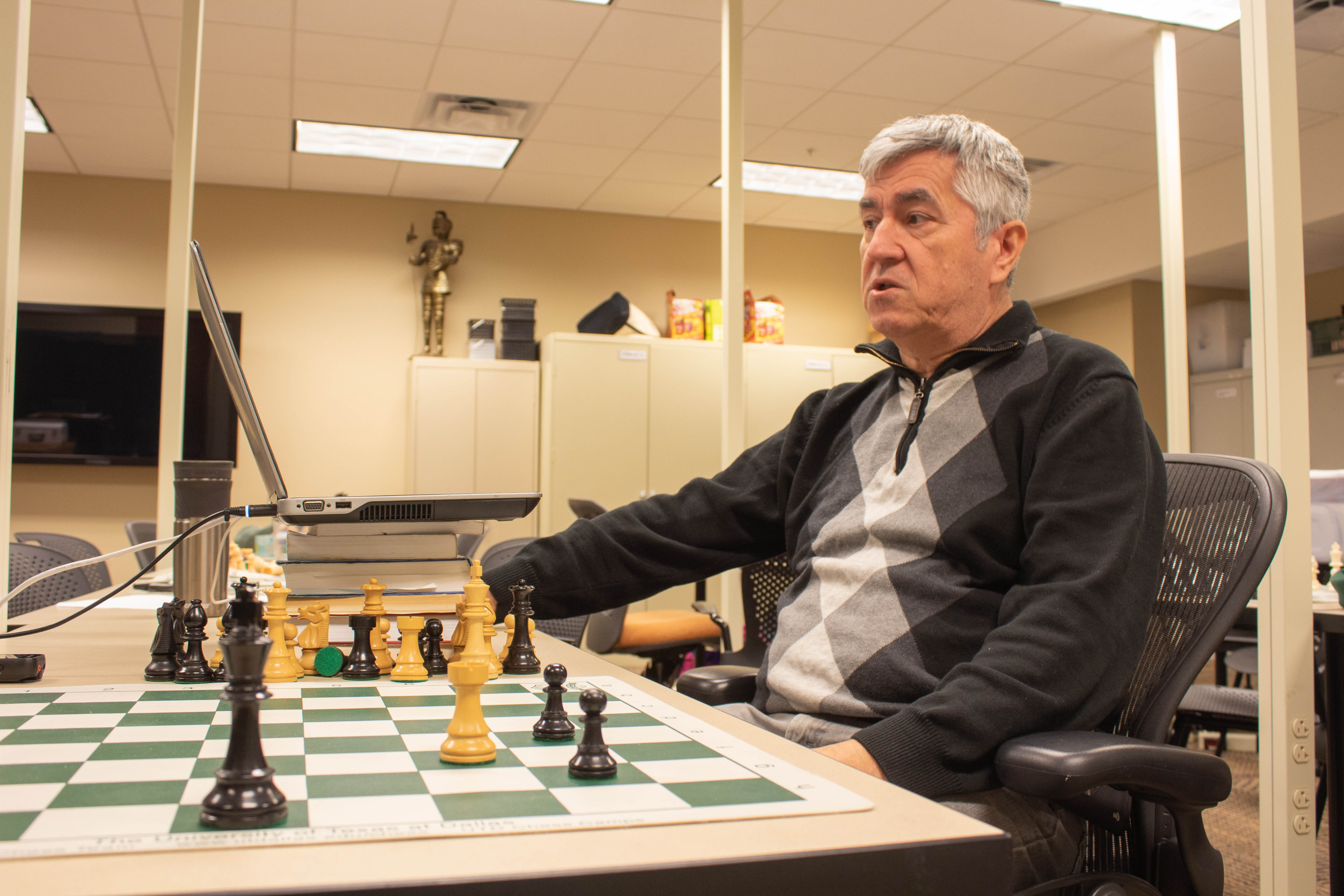 OIT director develops chess analysis supercomputer