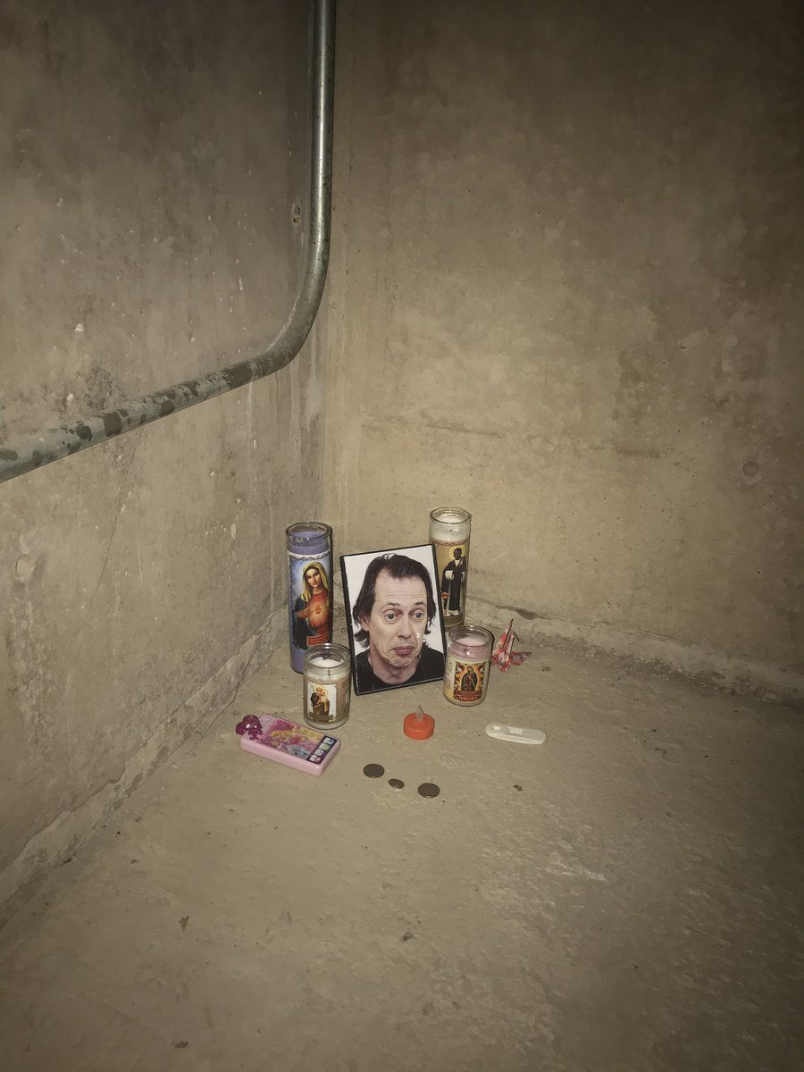 Shrine to Hollywood actor discovered under stairwell