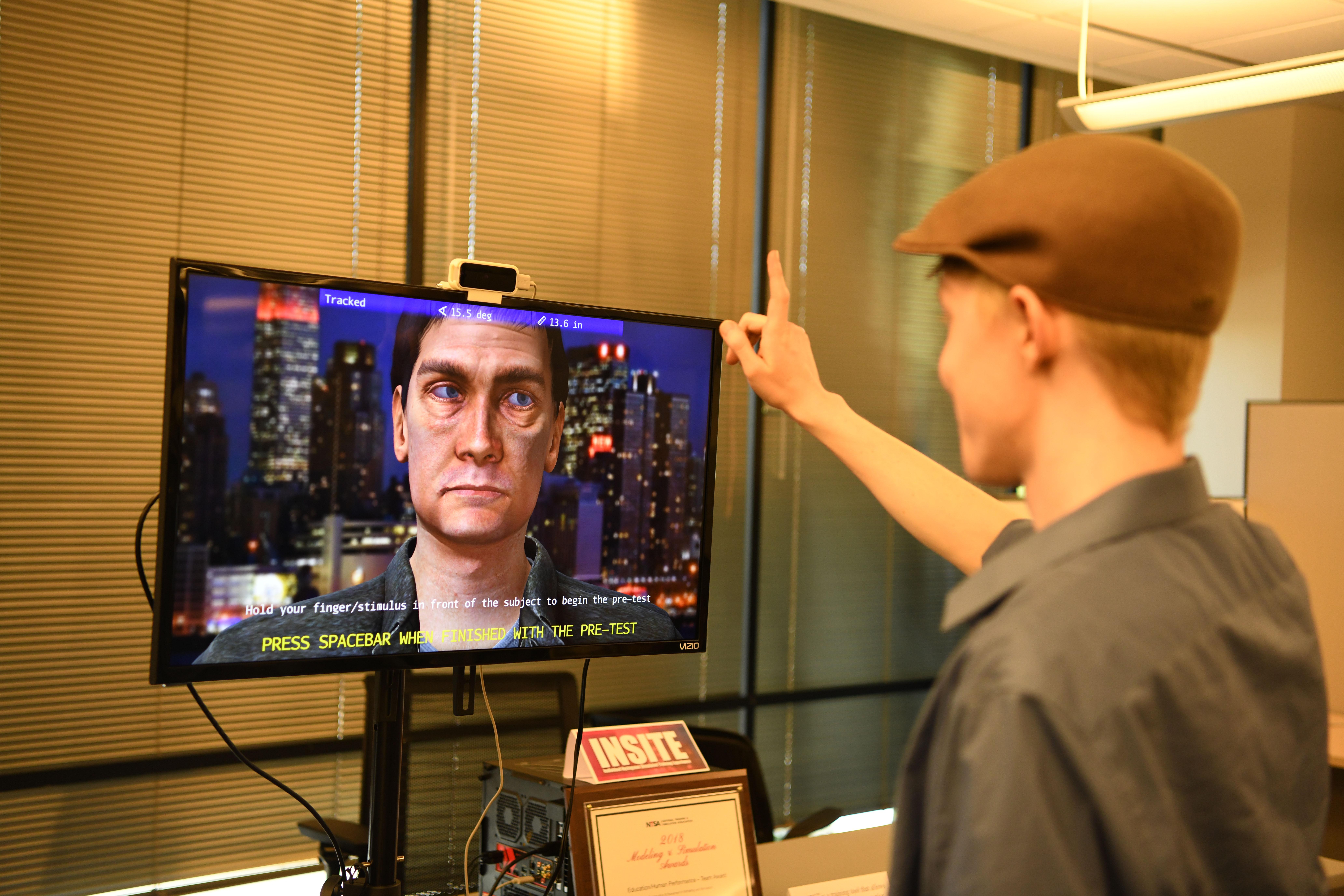 Professor helps create police training software