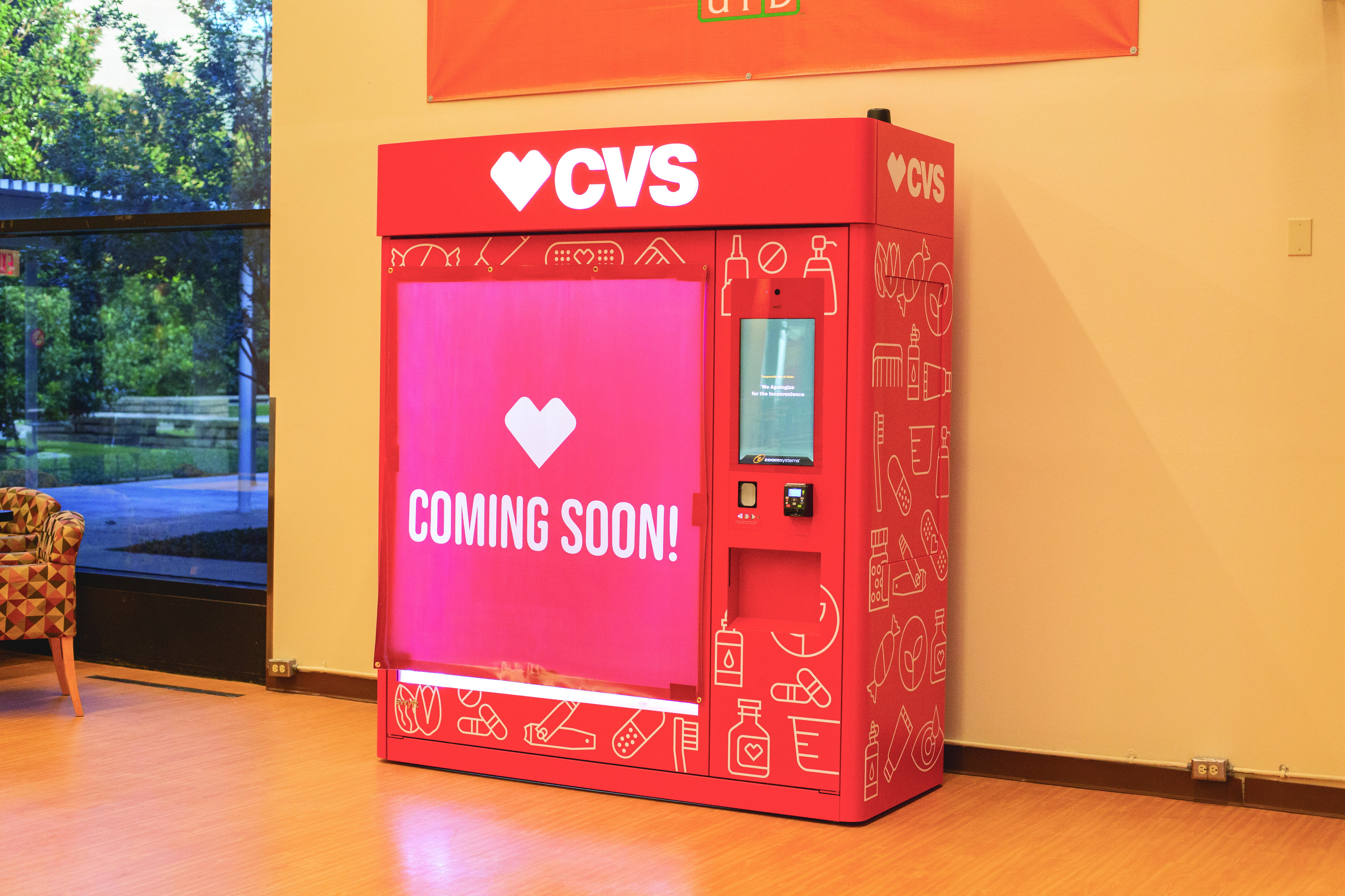 CVS Vending Machines to Open on Campus