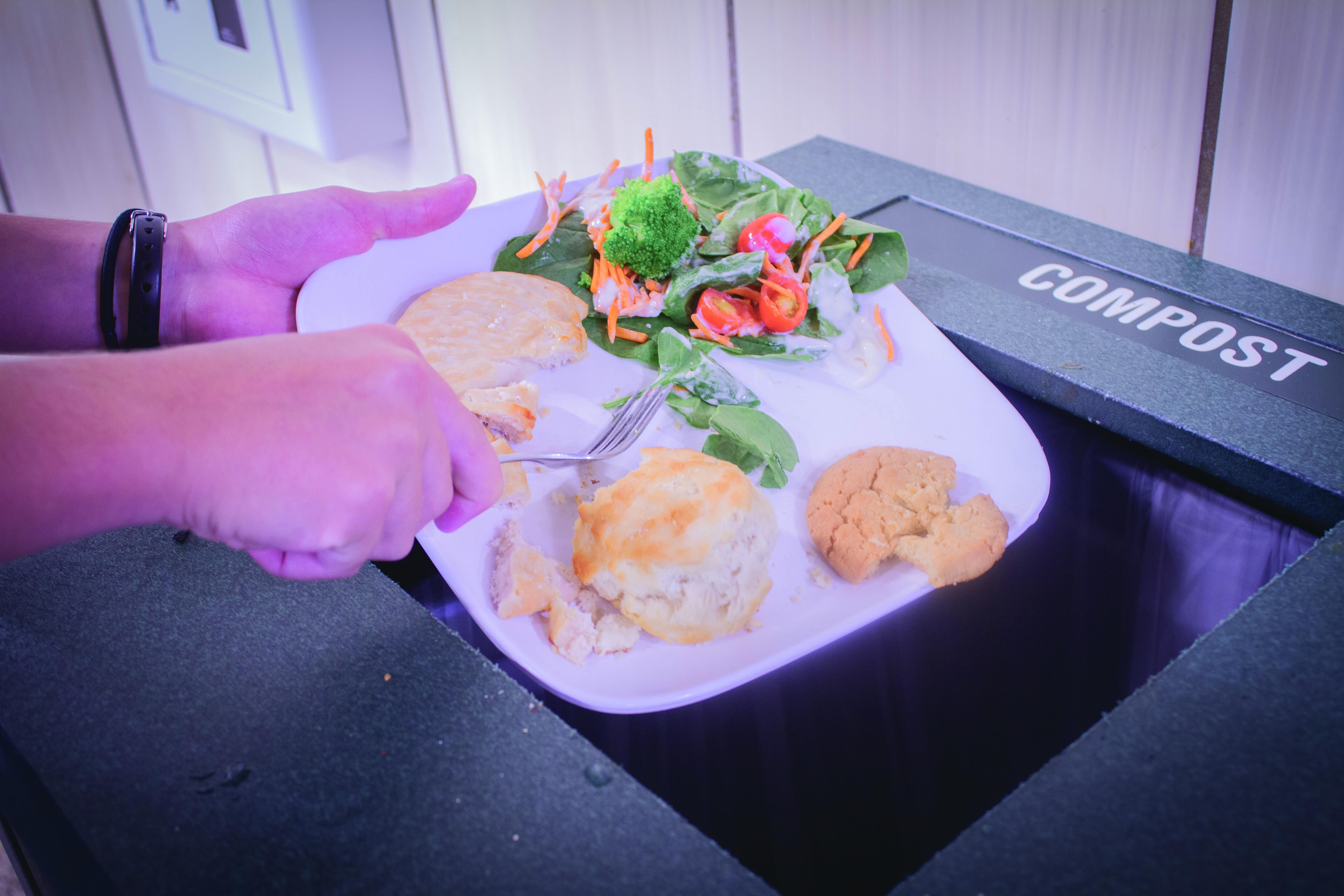 'Waste not Want not' at UTD Dining Services