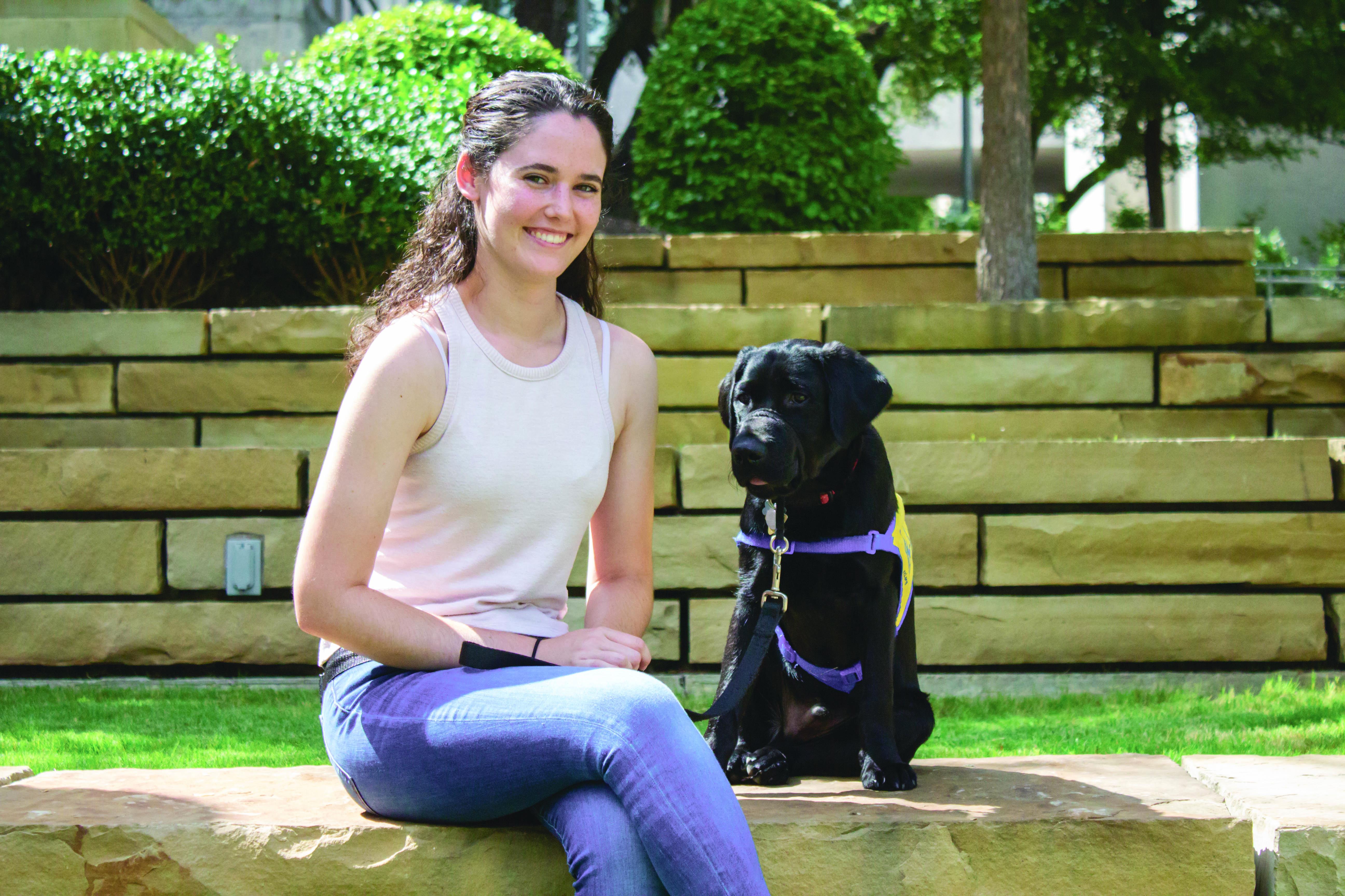 Group of Students Help Raise, Train Future Service Animals