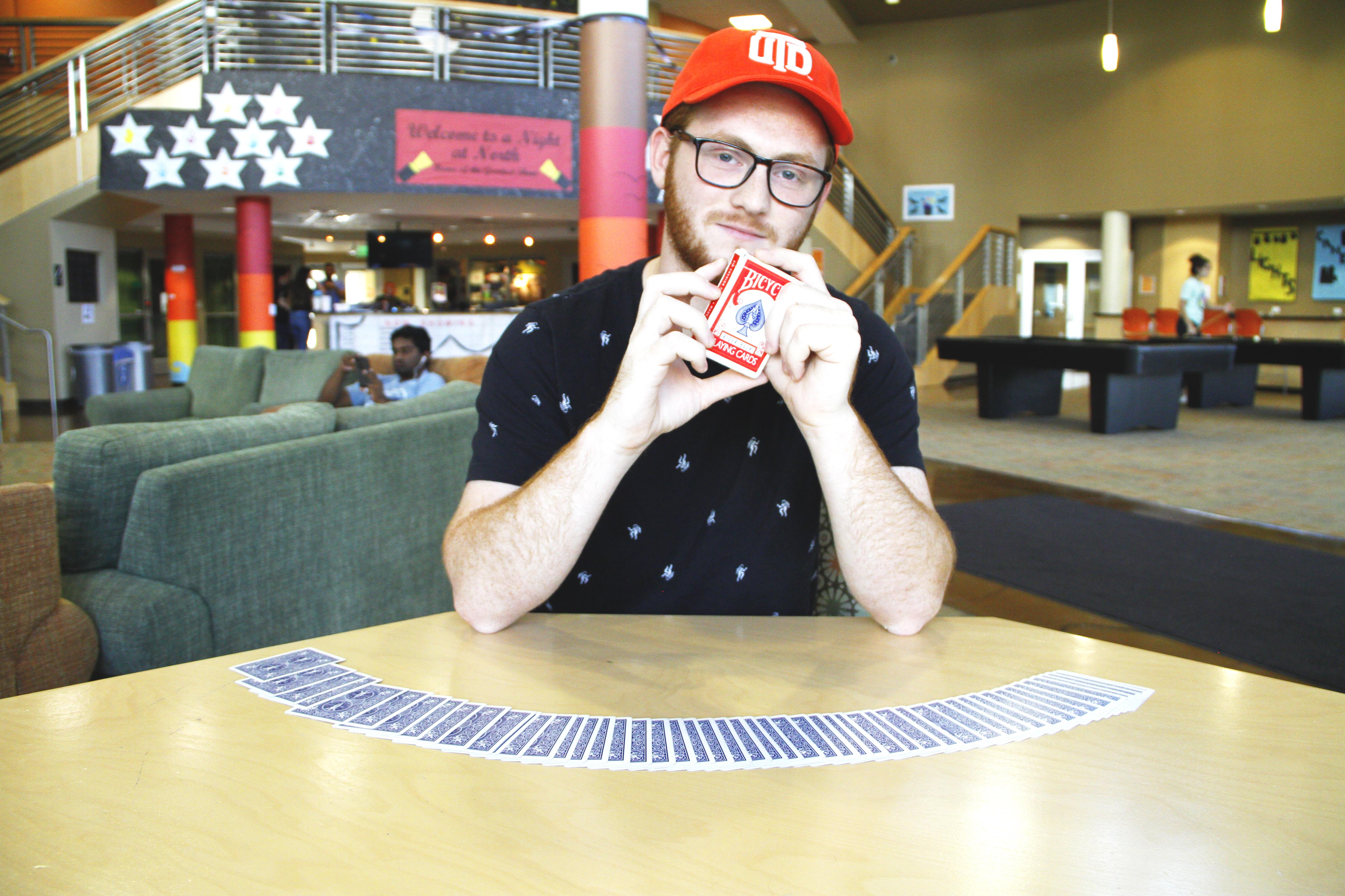 Freshman Magician Brings Tips, Tricks to New Club