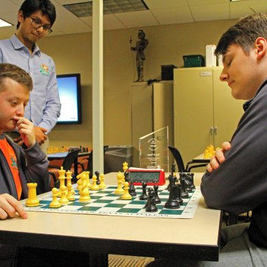 Chess Team Heads to President's Cup