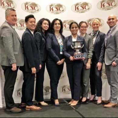 Pro-Sales Team places first at international sales competition