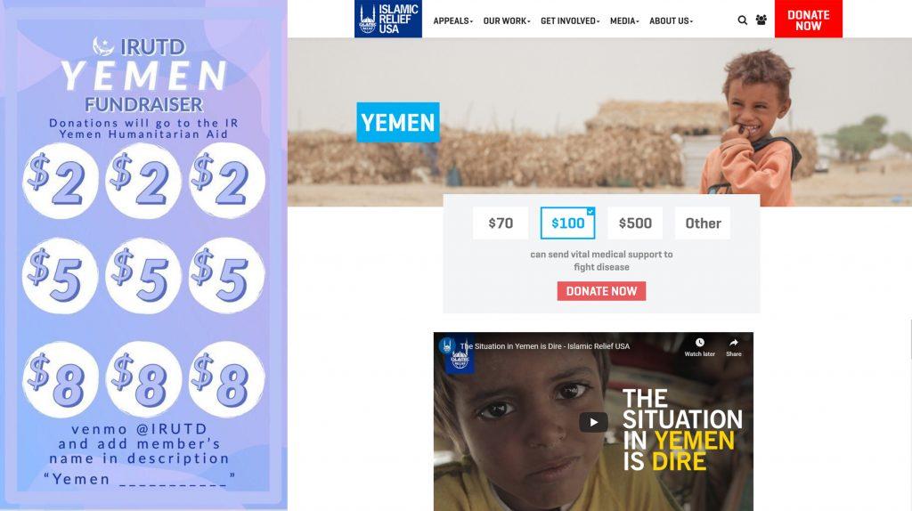 Student organizations raise money for Yemen crisis - THE MERCURY