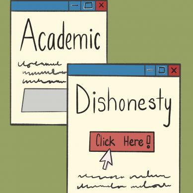 Academic dishonesty in a virtual world