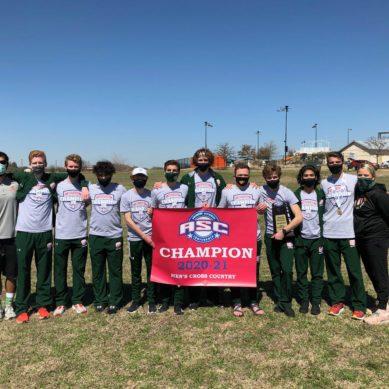 Men's cross-country team wins third consecutive ASC championship