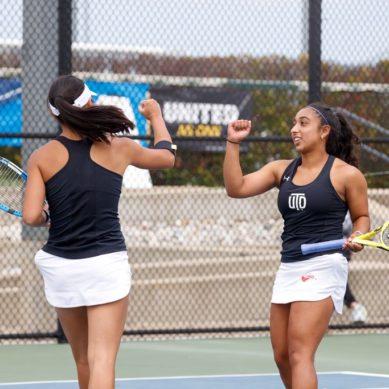 Women's doubles tennis team makes historic run